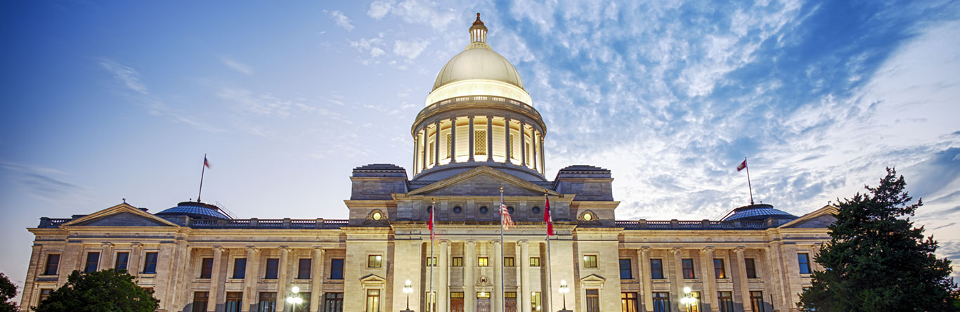domed government building